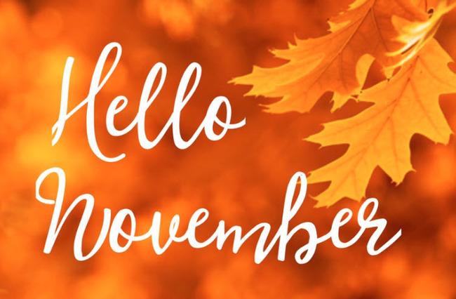 Chào tháng 11