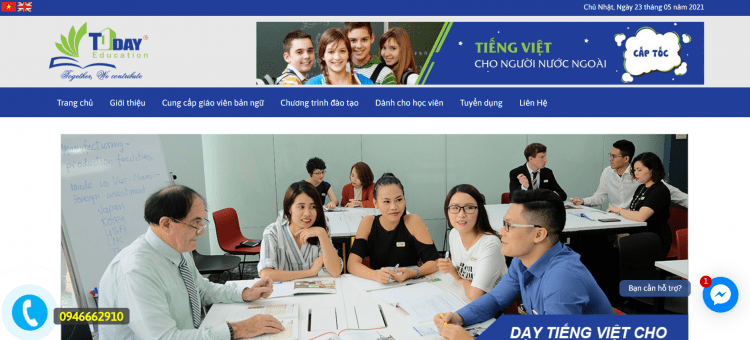 Trung tâm tiếng Anh TODAY EDUCATION
