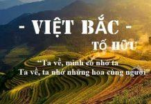 Top 20 bài văn phân tích Việt Bắc hay nhất