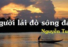 Top 20 bài văn mẫu phân tích Người lái đò sông Đà hay nhất